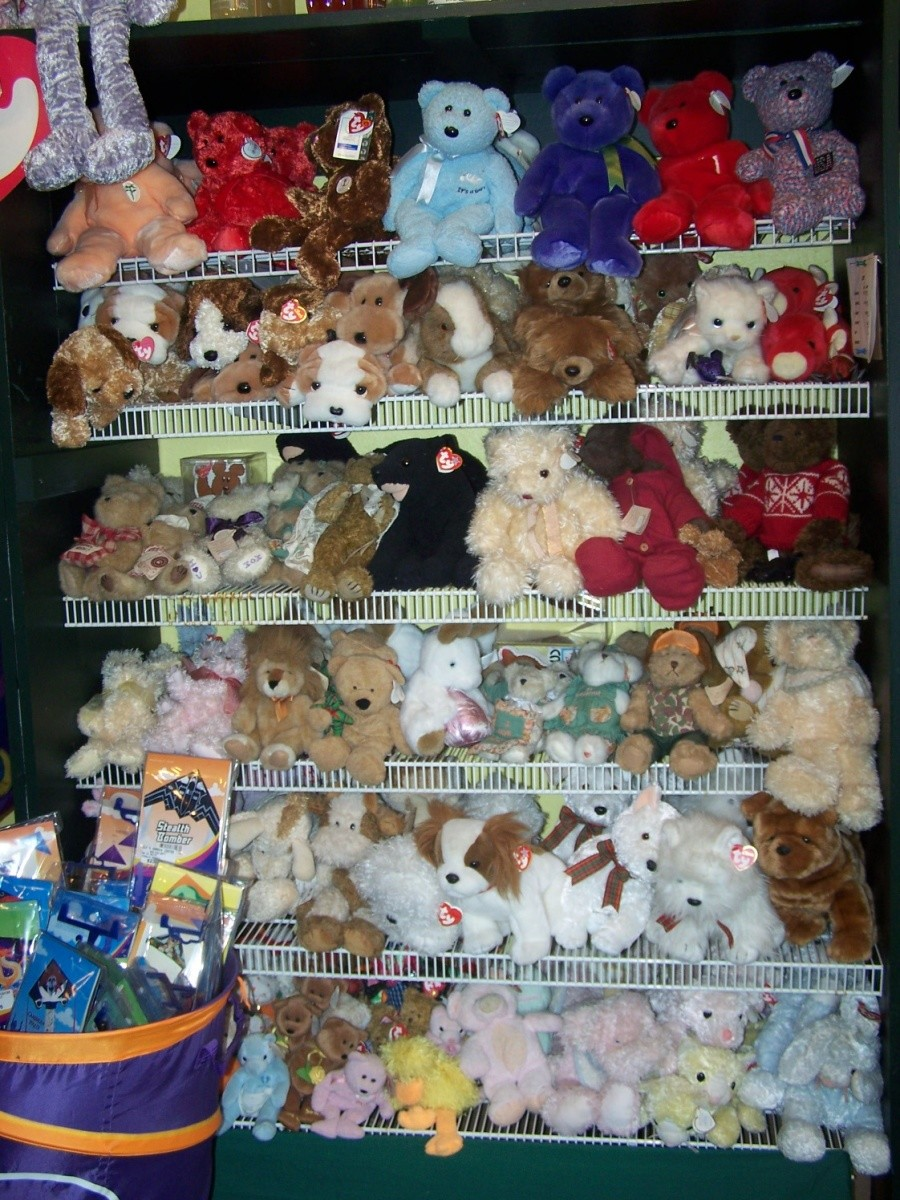 Stuffed animals gift shop